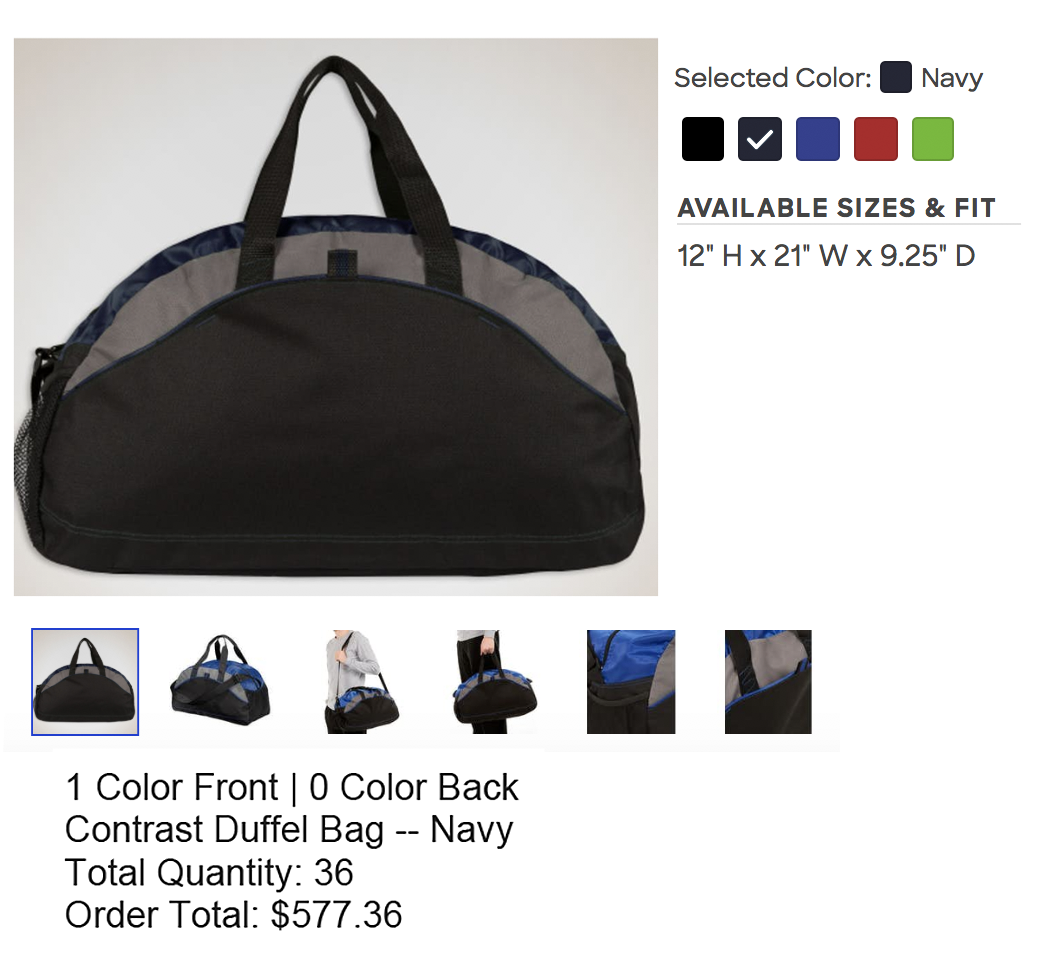 duffel bag printing apparel printing ct